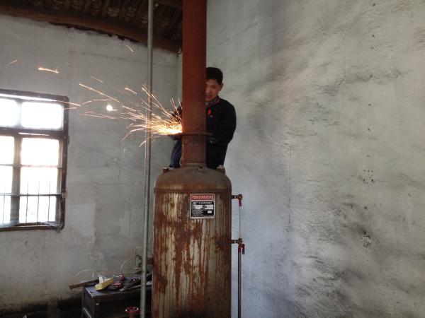 拆除小锅炉 减排保环境