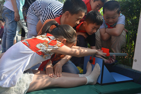 翔云小学举行首届达标运动会