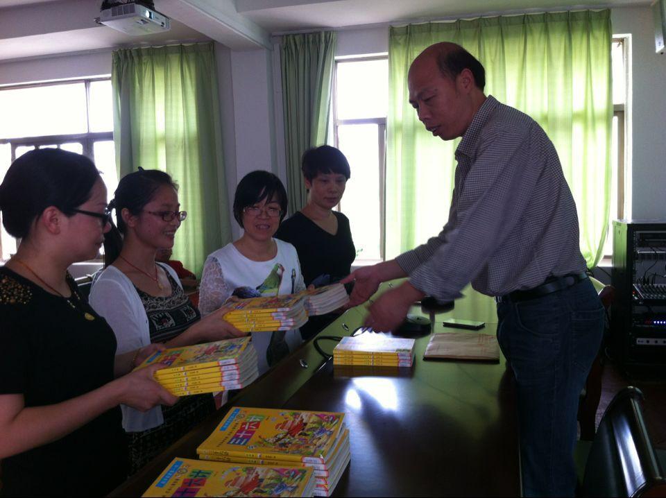 七里学校:阅读新方式让师生翱翔书海