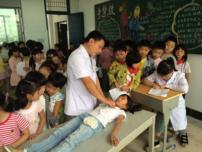 关注学生健康,加强身体检查