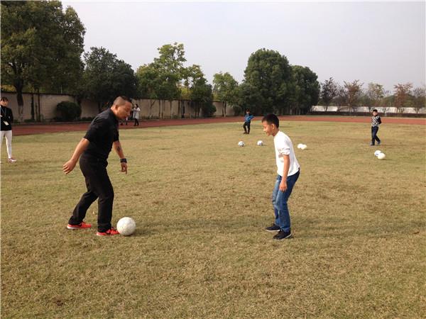 安城小学:农村娃与足球亲密接触