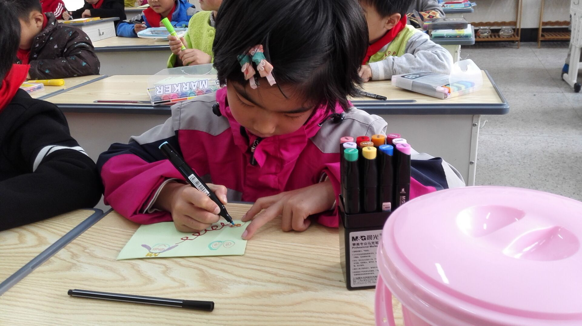 湖海塘小学 写给五月的母亲