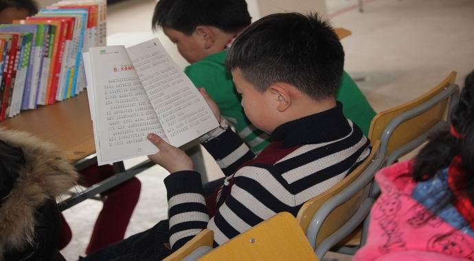 台州黄岩王林小学:读好书,好读书