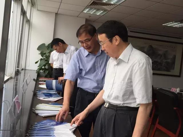 省教育厅厅长刘希平调研省教育评估院
