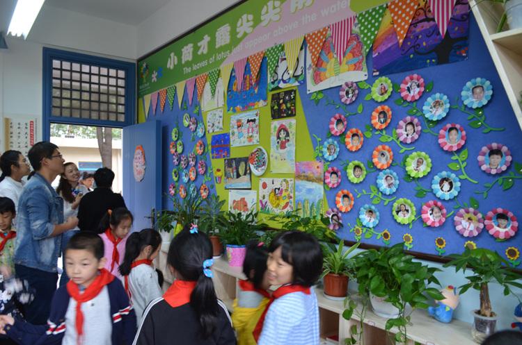 """""""最美教室""""展示温馨和谐校园文化"""