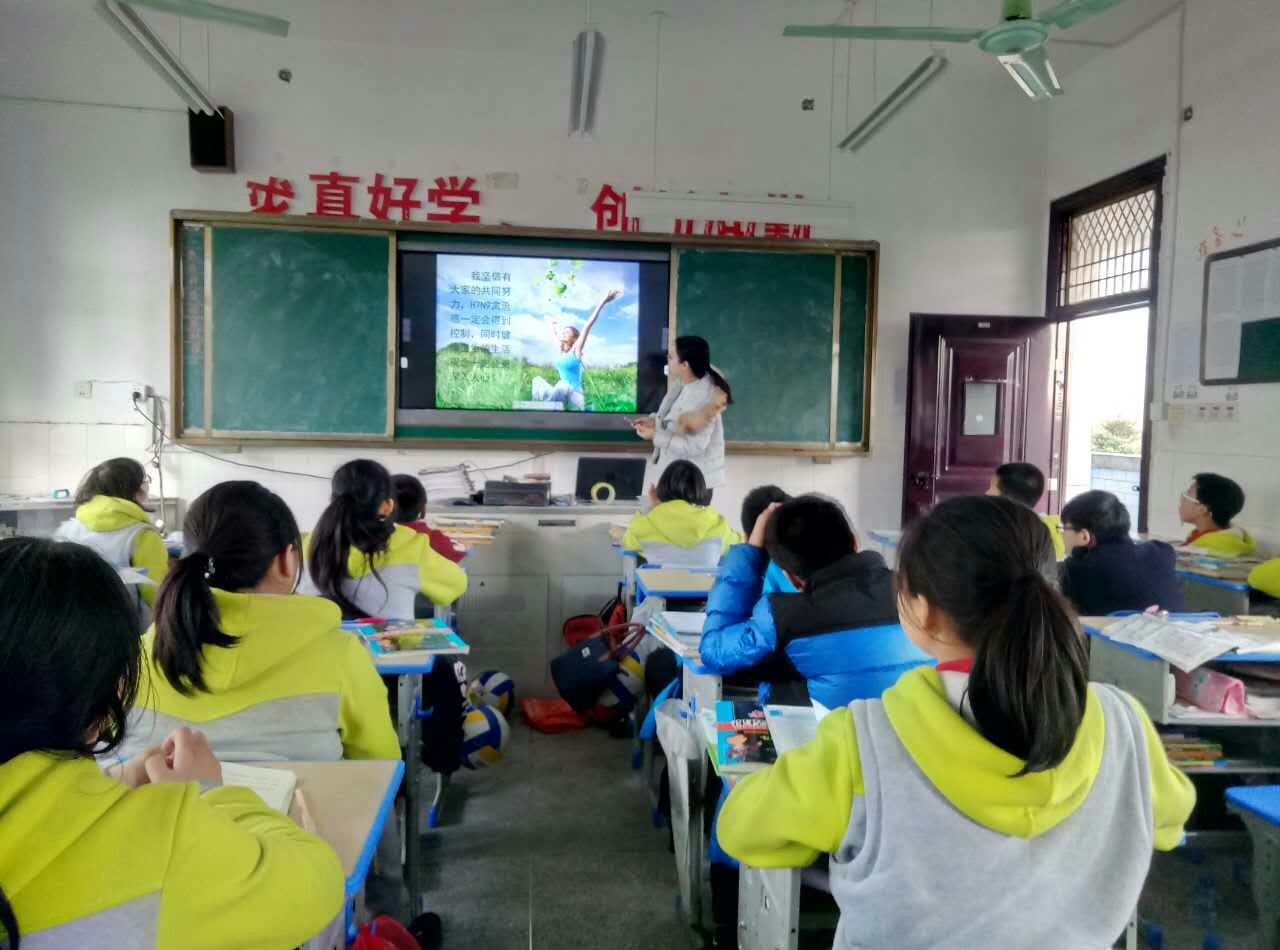 龙游塔石初中:积极防控共筑平安防护线