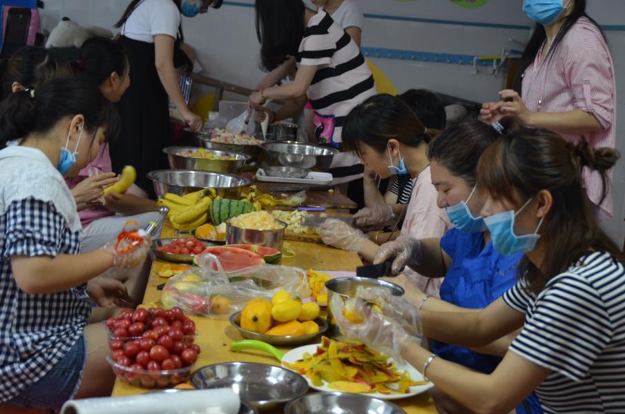 街亭中幼:舌尖上的美食
