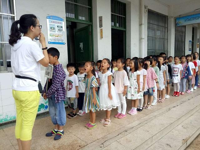 """安城小学:""""学习准备期"""",孩子们真努力!"""