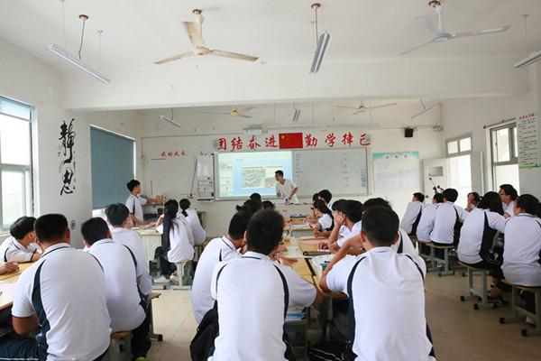 台州市中职商贸专业教研活动在玉环市中等职技校召开