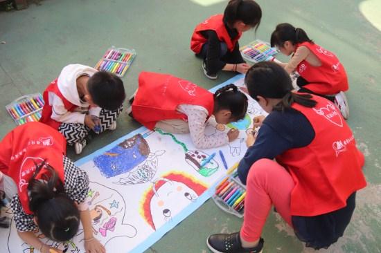 江山市城东幼儿园:画美丽家园 喜迎地球日